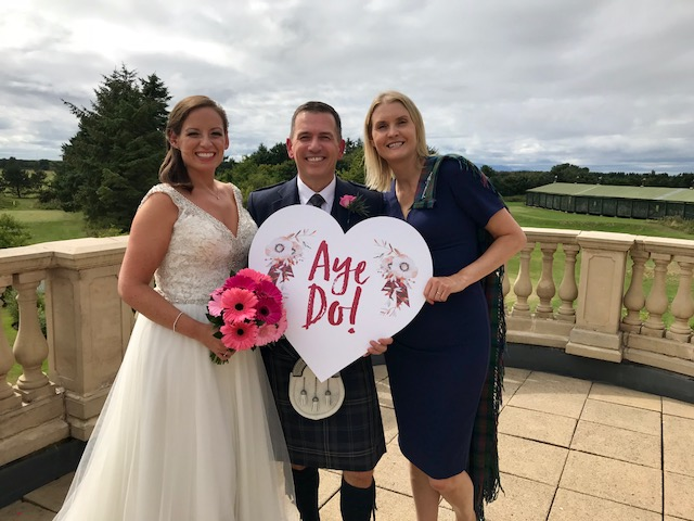 Wedding Celebrant in Ayrshire