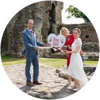 Alex and Emma, Aberdour Castle
